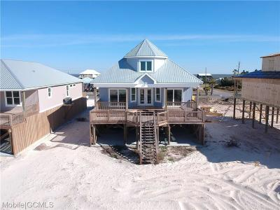 Dauphin Island Single Family Home For Sale: 1811 Bienville Boulevard