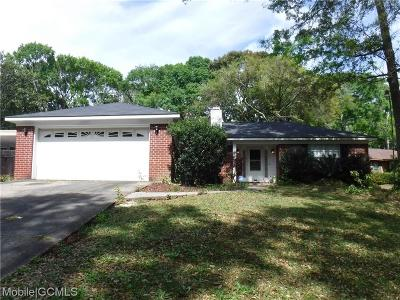 Theodore Single Family Home For Sale: 5669 Woodchase Circle E