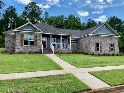 Saraland Single Family Home For Sale: 20 Tupelo Drive