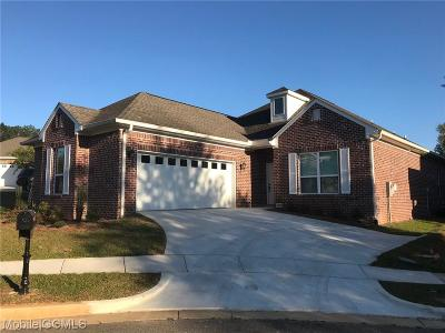 Mobile Single Family Home For Sale: 6608 Somerby Lane