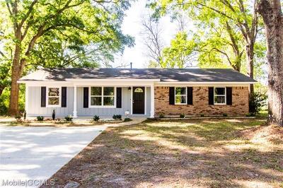 Theodore Single Family Home For Sale: 6371 Barnes Road