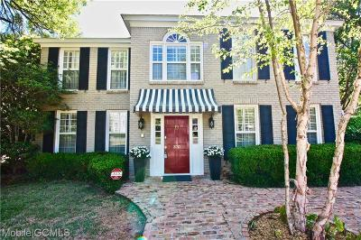 Mobile County Single Family Home For Sale: 370 Tuthill Lane