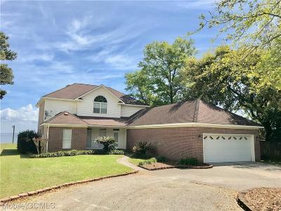 Mobile County Single Family Home For Sale: 7049 Bay Road