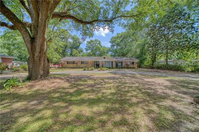 Saraland Single Family Home For Sale: 420 Pine Street