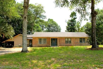 Mobile Single Family Home For Sale: 3160 Ching Dairy Road