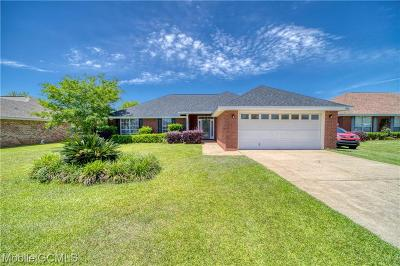 Mobile Single Family Home For Sale: 3000 Plantation Drive W