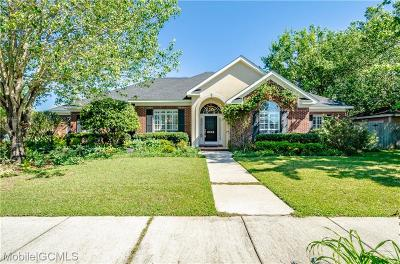 Mobile Single Family Home For Sale: 8535 Sterling Drive
