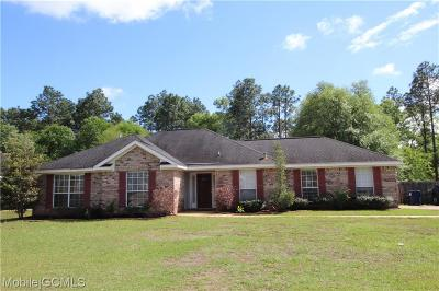 Semmes Single Family Home For Sale: 8271 Woodland Hills Drive