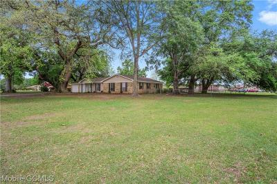 Theodore Single Family Home For Sale: 8550 Epson Downs Street