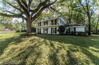 Mobile Single Family Home For Sale: 951 Highpoint Drive W