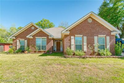 Theodore Single Family Home For Sale: 6550 Browder Drive