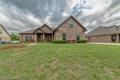 Mobile Single Family Home For Sale: 10931 Heritage Circle N