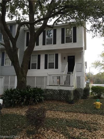 Mobile Single Family Home For Sale: 270 Hillcrest Road #201
