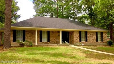 Mobile Single Family Home For Sale: 1265 Hanover Court