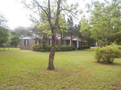 Theodore Single Family Home For Sale: 6411 Horseshoe Lane