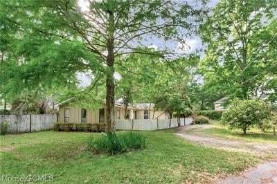 Mobile Single Family Home For Sale: 5400 Worth Drive