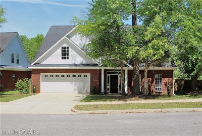 Mobile Single Family Home For Sale: 5914 Eastridge Place