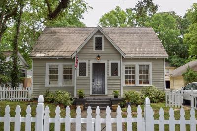 Mobile Single Family Home For Sale: 121 Houston Street
