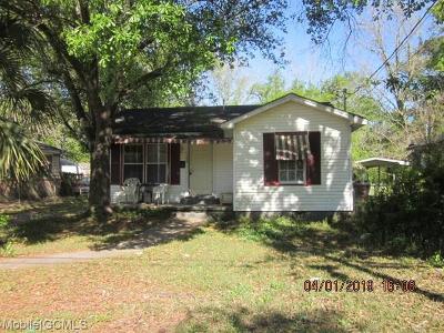 Mobile Single Family Home For Sale: 1159 McRae Avenue