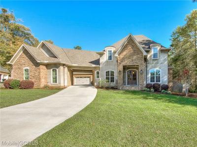 Mobile Single Family Home For Sale: 7676 Rockstone Lane S