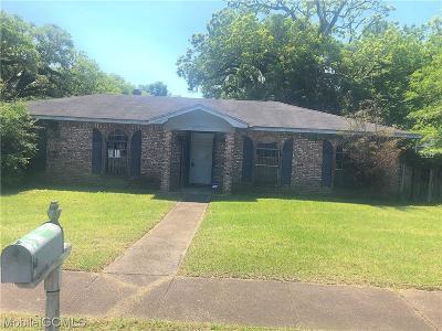 Mobile Single Family Home For Sale: 851 Charleston Street