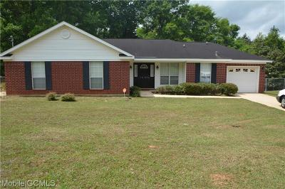 Semmes Single Family Home For Sale: 1507 Champion
