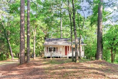 Mobile Single Family Home For Sale: 3258 Riverside Drive