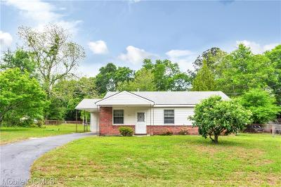 Mobile Single Family Home For Sale: 4662 Sunset Drive N