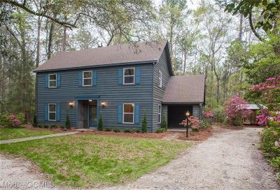 Mobile Single Family Home For Sale: 3115 Newman Road #A