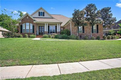 Mobile Single Family Home For Sale: 9950 Turtle Creek Lane S