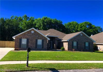 Mobile Single Family Home For Sale: 10773 Rigby Drive