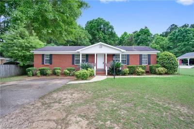 Semmes Single Family Home For Sale: 8075 Wards Lane