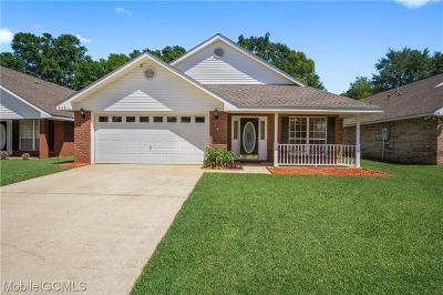 Mobile Single Family Home For Sale: 8158 Magnolia Village Drive N