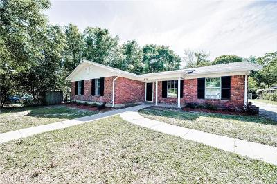 Mobile Single Family Home For Sale: 2714 Longleaf Drive