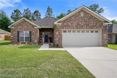 Mobile Single Family Home For Sale: 8715 Crabtree Place