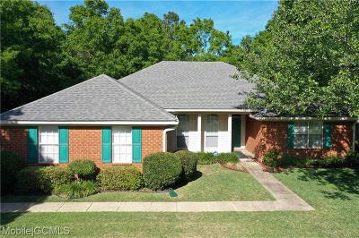 Mobile Single Family Home For Sale: 4140 Meadow Green Court