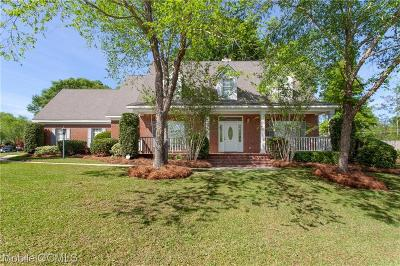 Mobile Single Family Home For Sale: 6400 Windsor Drive