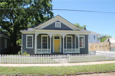 Mobile Single Family Home For Sale: 6 Hallett Street