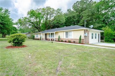 Mobile Single Family Home For Sale: 2900 Demetropolis Road