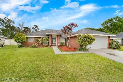 Mobile Single Family Home For Sale: 8550 Anvil Court E