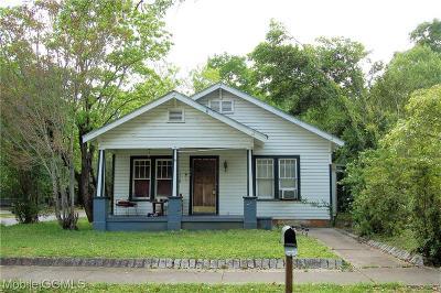 Mobile Single Family Home For Sale: 451 Dexter Avenue
