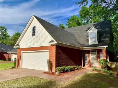 Mobile Single Family Home For Sale: 7065 Crown Pointe Drive