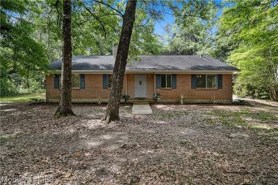 Mobile County Single Family Home For Sale: 11352 Ann Road