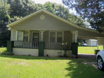 Mobile County Single Family Home For Sale: 765 Magnolia Road