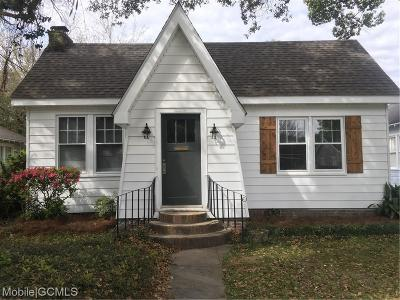Mobile County Single Family Home For Sale: 2204 Homewood Street