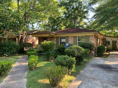 Mobile County Single Family Home For Sale: 2914 Truett Avenue
