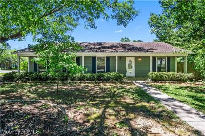 Mobile County Single Family Home For Sale: 1040 Smokerise Drive