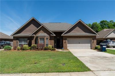 Semmes Single Family Home For Sale: 9796 Torrington Drive N
