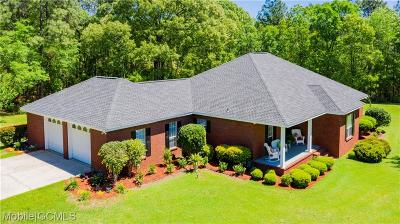 Citronelle Single Family Home For Sale: 10850 Dogwood Drive