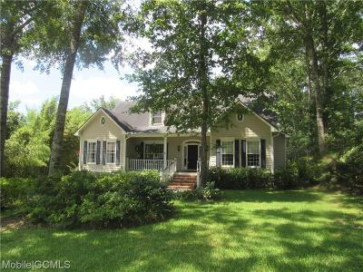 Mobile Single Family Home For Sale: 1516 Ridgeland Road W